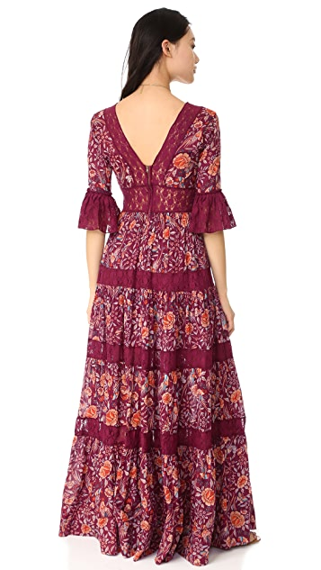 Free People Dulce Maria Maxi Dress