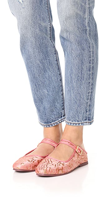 Free People Evie Mary Jane Convertible Flats