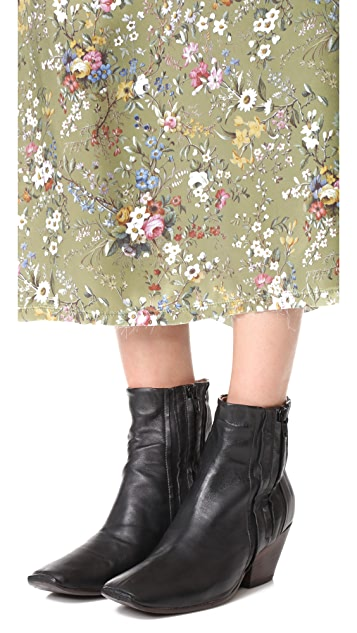 Free People Rainer Heel Booties