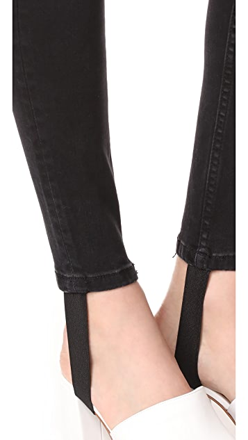 Free People Denim Stirrup Jeans