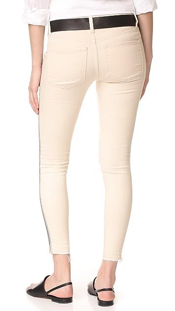 Free People Side Embellished Skinny Jeans