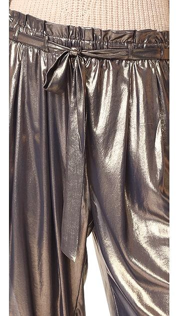 Free People Metal Harem Pants