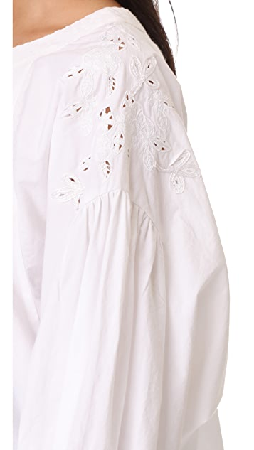 Free People Wishing Well Blouse