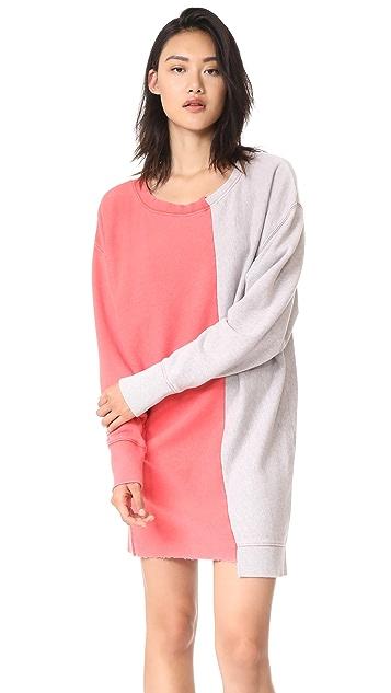 Free People Coloring In Pullover Sweatshirt Dress