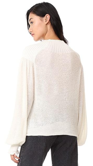 Free People Elderflower Sweater