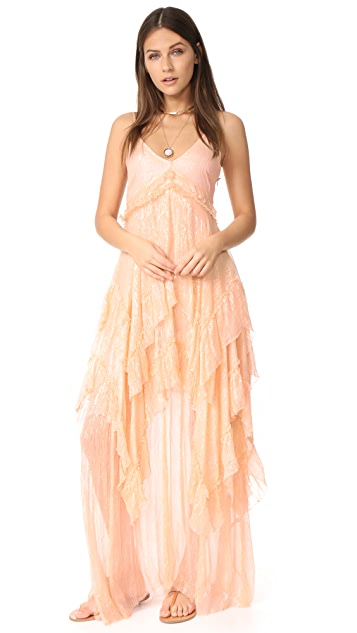 Free People Midnight Rendezvous Maxi Dress