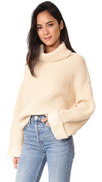 Free People Park City Pullover Sweater