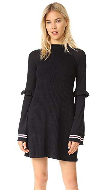 Free People Zou Bisou Knit Mini Dress