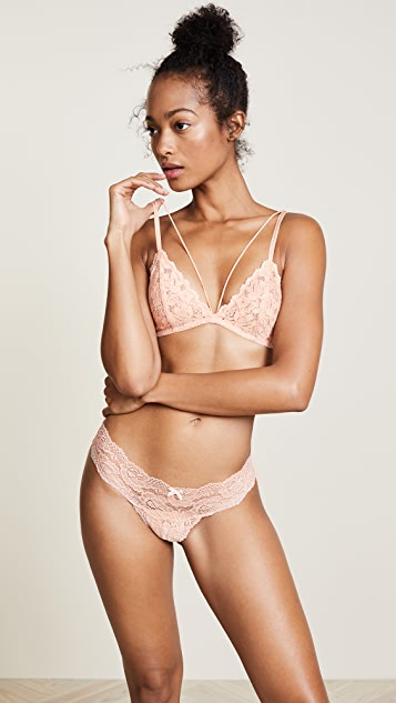 Free People Front Strap Triangle Bra