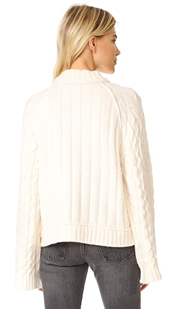 Free People Snowbird Pullover