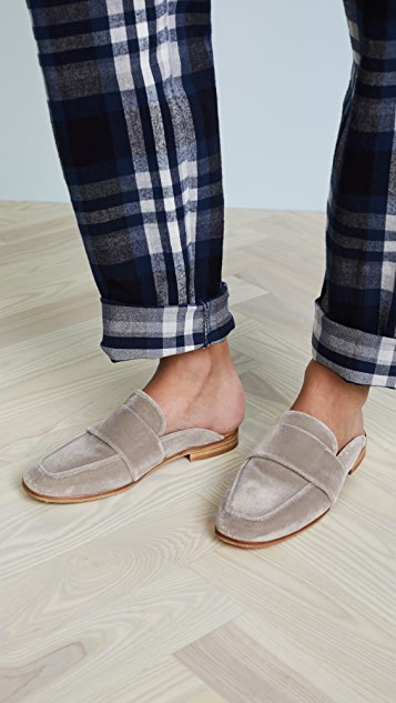 Free People Velvet At Ease Loafers