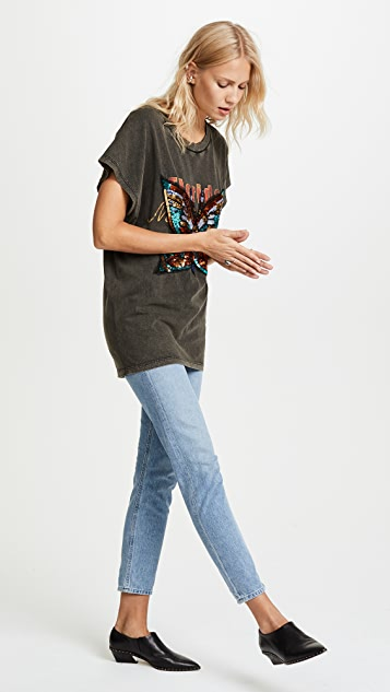 Free People Butterfly Valentine Tee
