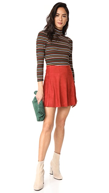 Free People Striped I'm Cute Top
