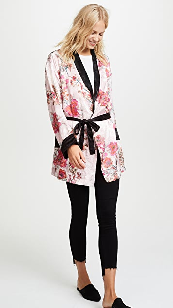 Free People Ladies Who Lounge Robe