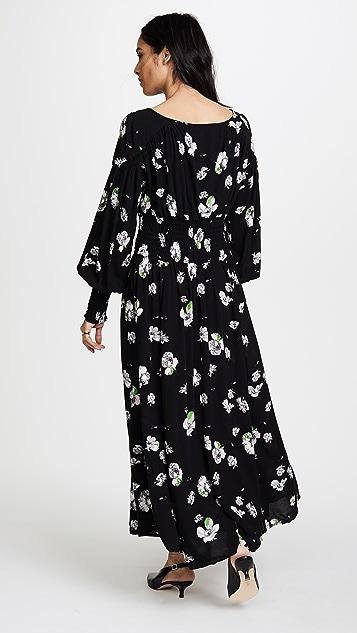 Free People So Sweetly Midi Dress