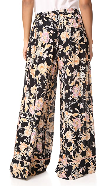 Free People Bali Wildflower Pants