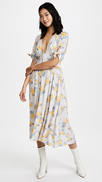 Free People Love of My Life Printed Dress