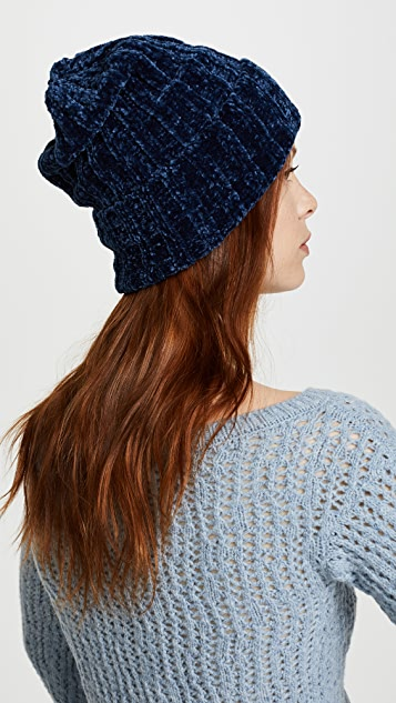 Free People Huggy Bear Chenille Beanie Hat