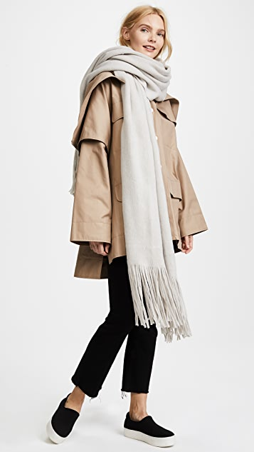 Free People Kolby Brushed Fringe Scarf