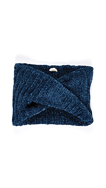 Free People Love Bug Chenille Cowl Scarf