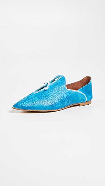 Free People St. Lucia Flats - Blue