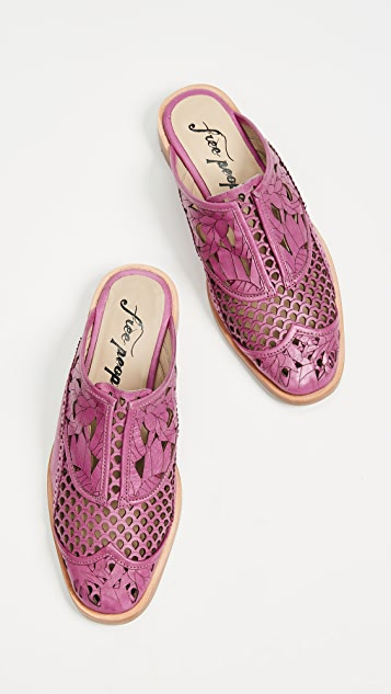 Free People Paramount Slip On Loafers