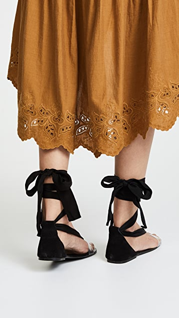 Barcelona Wrap Sandals by Free People