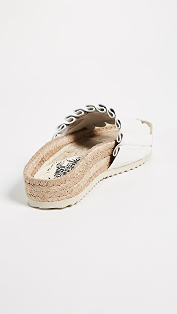 Free People Island Time Espadrille Slide Sandals
