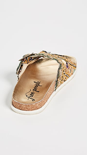 Free People Bali Footbed Slides