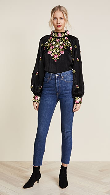 Free People Jessica Blouse