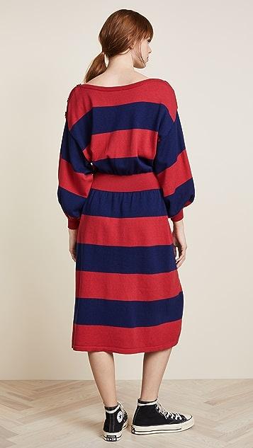 Free People On My Mind Midi Dress