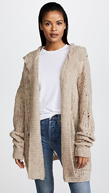 Free People Lemon Drop Cardigan