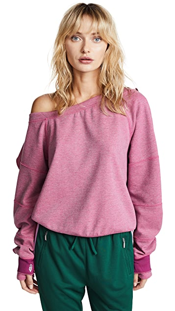 Free People Movement Flounce Tech Top