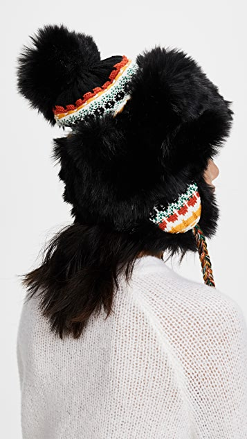 Free People Melt My Heart Trapper Hat