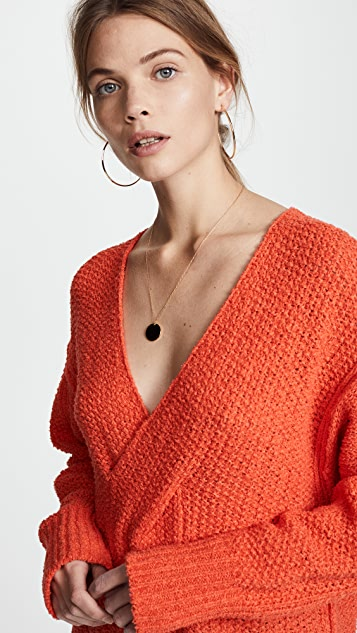 Free People Coco V Neck Sweater