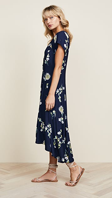 Free People Миди-платье Lost in You