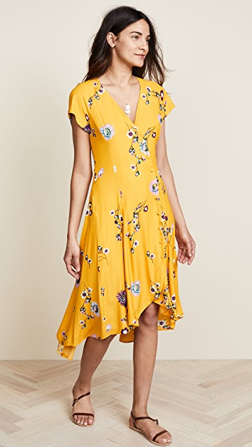 Free People Lost in You Midi Dress