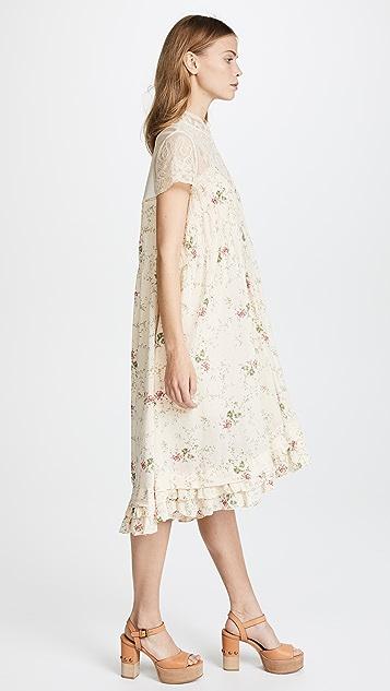 Free People Decadent Midi Dress