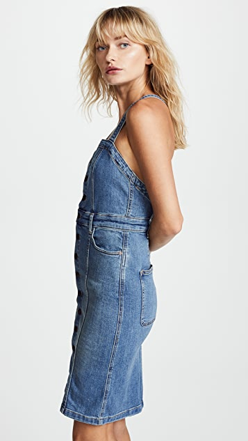Free People Denim Front Jumper
