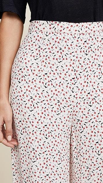 Free People Easy Peasy Printed Wide Leg Pants