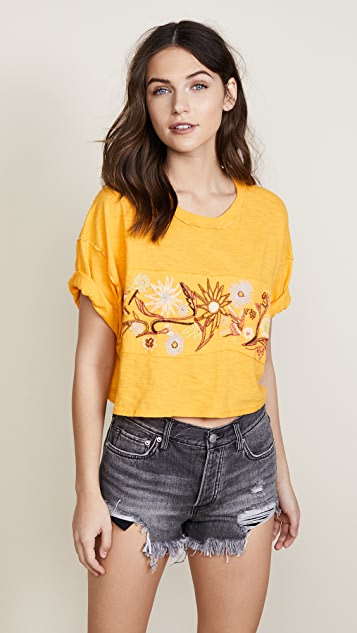 Free People Garden Time Tee