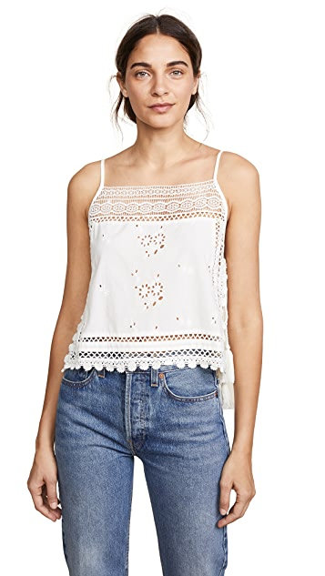 Free People Garden Party Cami Blouse