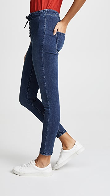 Free People High Lace Leggings