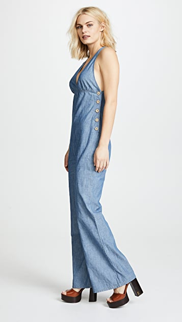 Free People Dance All Night Jumpsuit