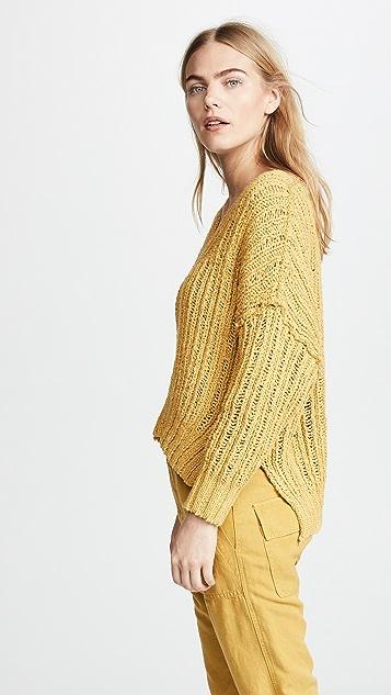 Free People Infinite V Neck Sweater