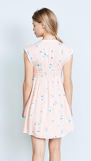 Free People Greatest Day Smocked Mini Dress