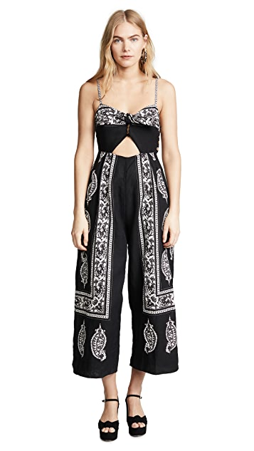 Free People Feel The Sun Jumpsuit