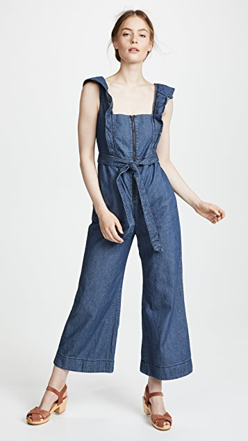 Free People Sun Valley Jumpsuit