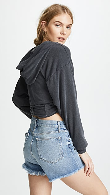 Free People Movement Hang Loose Wrap Tee
