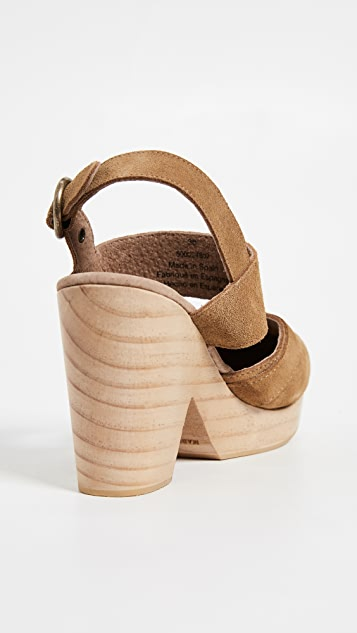 Free People Park Circle Clogs